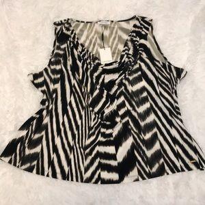 Calvin Klein cowl neck sleeveless top size 3X